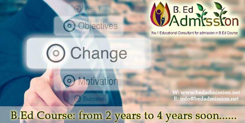 2-year b.ed course