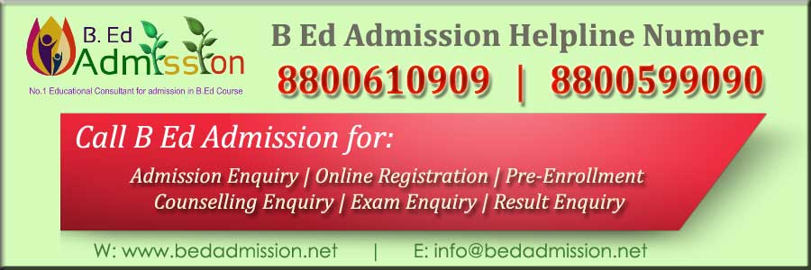 documents required for the admission in B.Ed CRSU Jind Haryana
