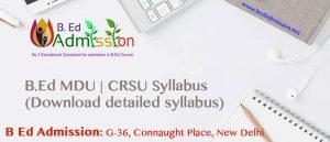 Download-B.Ed-MDU-CRSU-Syllabus