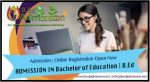 BEd Admission Process Eligibility Qualification Last Date