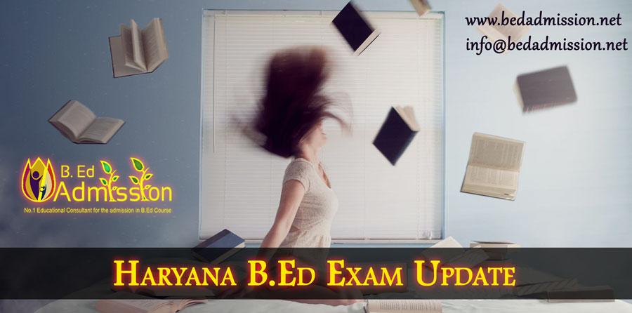 Haryana-B.Ed-Exams-Update