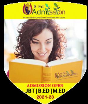 JBT BEd MEd Admission